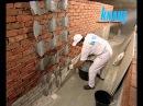 Отделка стен гипсокартоном КНАУФ однослойная облицовка на клею технология монтаж