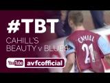 Gary Cahill's first Villa goal against Birmingham