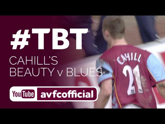 Gary Cahills first Villa goal against Birmingham