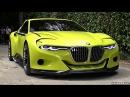 BMW 3.0 CSL Hommage WORLD DEBUT - Start Up Sound, Rev, Overview Driving