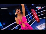 Bai Ling performing at SUPERKOMBAT   Romania   March 7