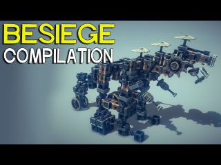 ►Besiege Compilation - Walkers & other creations