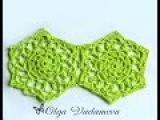 Вязание крючком. Crochet. Шестиугольный мотив 1. Часть 2. Соединение мотивов