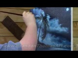 Painting With Magic Blue Moon Wave season 2 ep 11 wet on wet oil painting