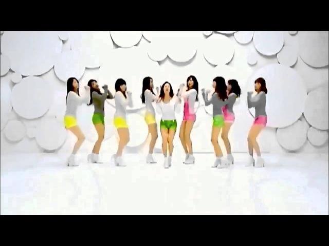 (MIRRORED) Girls' Generation 소녀시대 / SNSD - 'Gee'_Dance Version