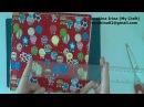 МК шьем развивающую книжку застежка магнитная кнопка