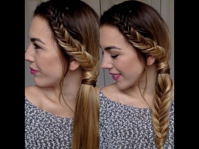 2 hair tutorials treccia laterale