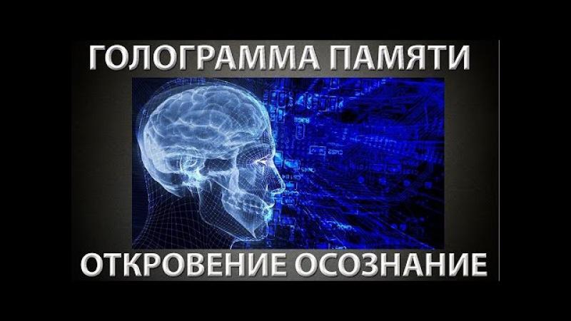 Вспомнить всё. Голограмма памяти