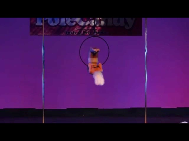 Thom Worrell Aerial Hoop PoleCandy 2015