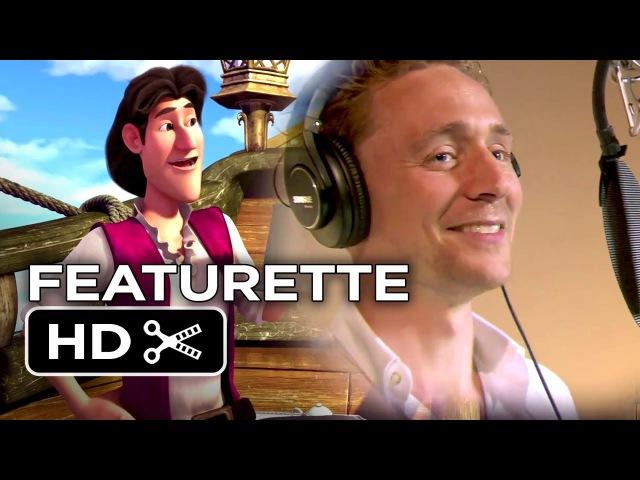 Tinker Bell The Pirate Fairy Featurette - Voice Work (2014) - Tom Hiddleston Disney Movie HD