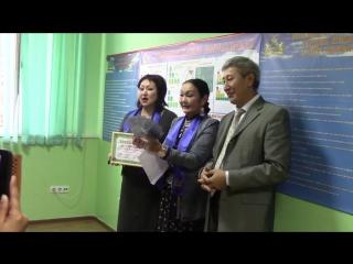 G-TIME CORPORATION 08.10.2015 г. вручение 1500000 тенге партнеру из Алматы