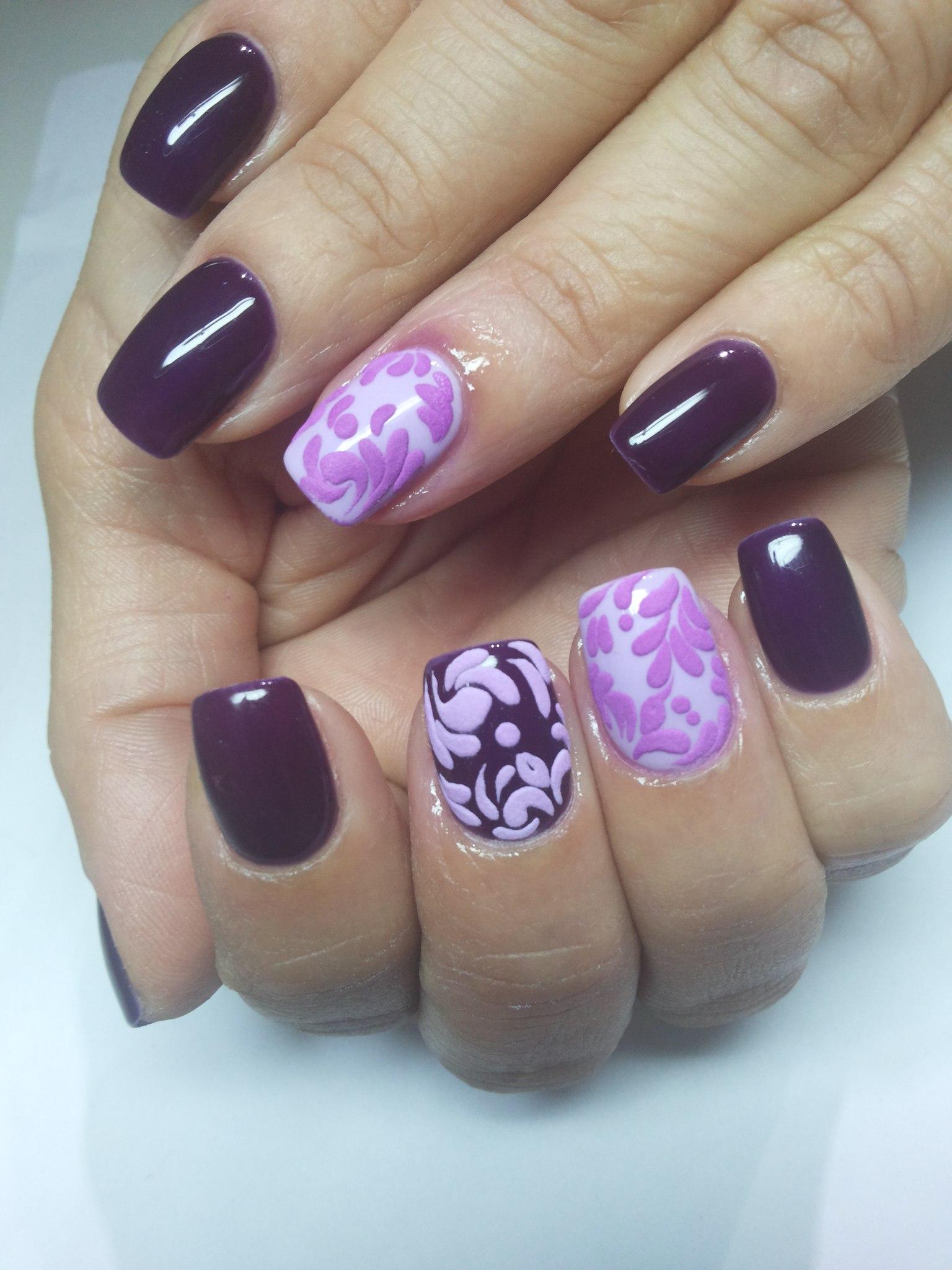 Дизайн нарощенных ногтей фото весна 2016-2017