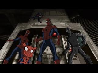 Совершенный Человек-Паук 3 сезон 12 серия - Паучьи вселенные 4 часть HD 720p