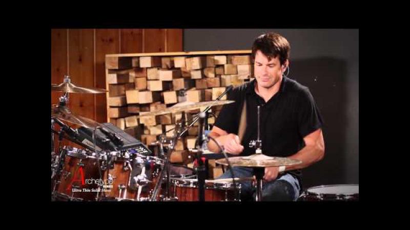 Johnny Rabb Drum Solo 1 on Hendrix Drums Archetype Stave Walnut Acoustic Drum Kit Set