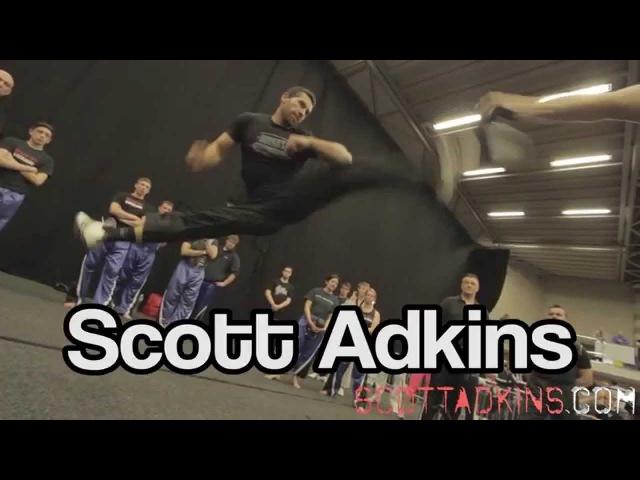 Martial Arts Show UK Seminar Scott Adkins Ginger Ninja Trickster