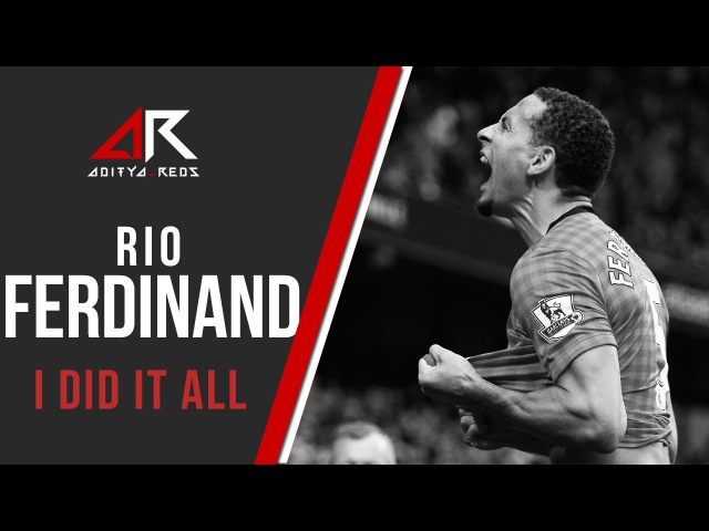 @rioferdy5 Rio Ferdinand I Did It All by @aditya reds