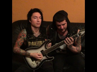 """Jake Pitts on Instagram: """"Getting guitarded with @holleyweird"""""""