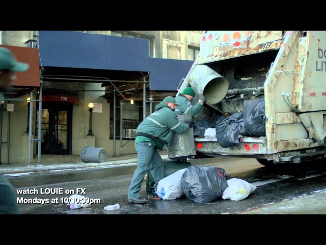 Garbage man scene from LOUIE