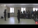 Siberian Top Dance Contest Popping 1x1 18 final Mr Panchos vs Aziza Funky