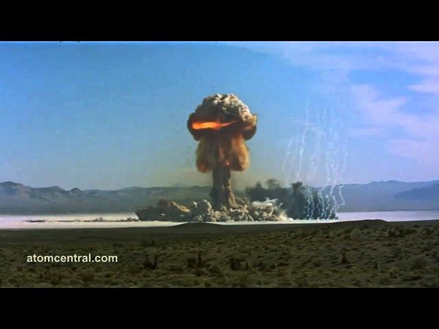 Шикарнейшая подборка ядерных взрывов