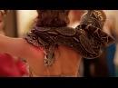 Восточные танцы со змеёй. Самира