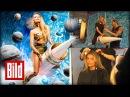 Sophia Thomallas heißer Raketen-Ritt - Galaktisches Fotoshooting (Lindemann / Let's dance)