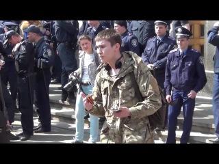 МОЛОЧАГА! Призывник в Харькове публично обвинил хунту