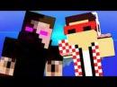 ФлэкДжиКей vs Челендж Эпичная Рэп Битва в Майнкрафте