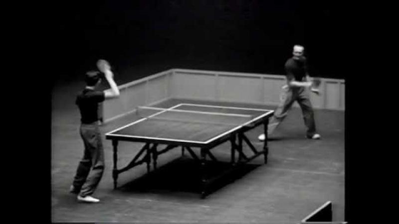 Marty Reisman vs Victor Barna 1949 English Open