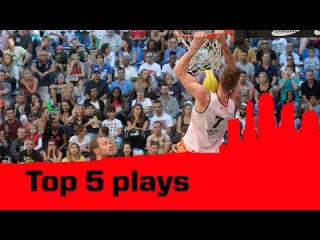 Top 5 Plays - 2014 FIBA 3x3 World Tour - Lausanne Masters