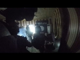Helmet Cam Footage Of Joint Kurdish And US Special Force Commando Raid During Hawija Operation Iraq