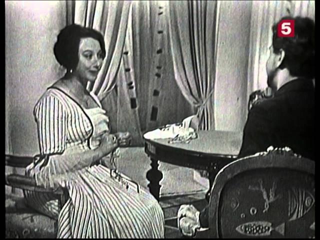 Месяц в деревне, 1 серия. ЛенТВ, 1968 г.