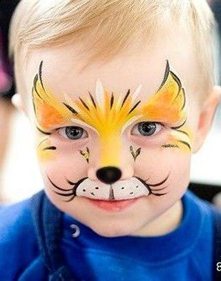 боди-арт для детей фотографии