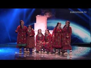 Евровидение 2012 - Бурановские бабушки Party For Everybody (Россия) 2 МЕСТО HD 720