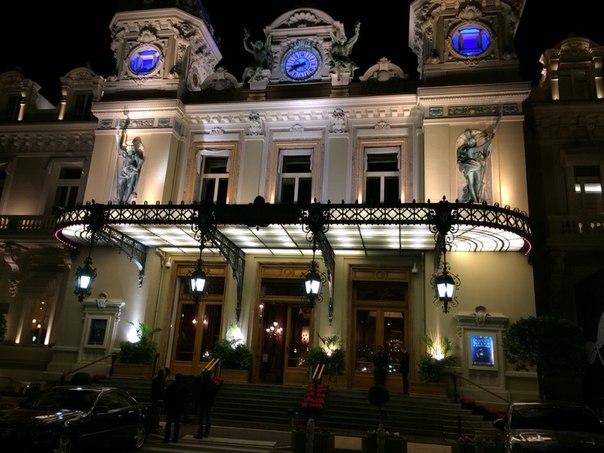 Казино Монте-Карло. Монако.