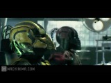 Mortal Kombat Legacy. Series 9. Cyber battle. Syrax, Sektor vs Hydro бой киборгов под дабстеп