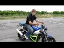 Как экстренно тормозить на мотоцикле