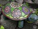 Мозаика для сада, мозаика своими руками