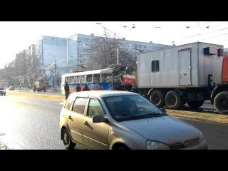 Мэрия Самары устанавливает причины катастрофы с  трамваем, водитель отстранён от работы