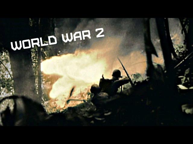 World War 2 • Battle of Iwo Jima • In colour