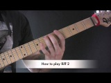 Hans Siste Vinter Guitar Lesson by Darkthrone