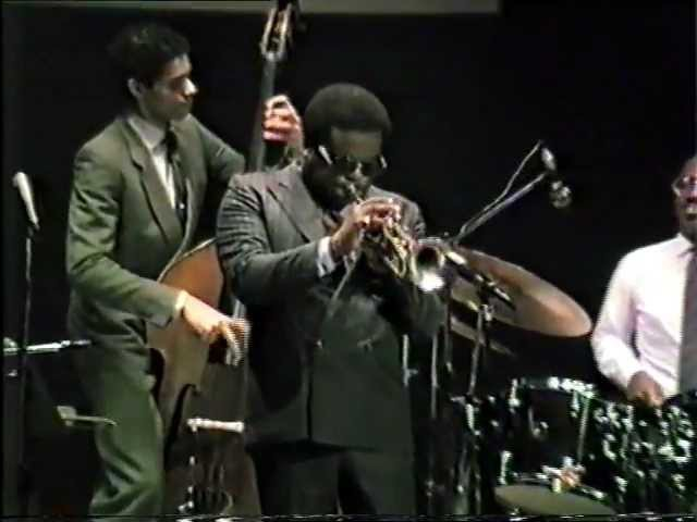 Freddie Hubbard A night in Tunisia Ancona Jazz '85