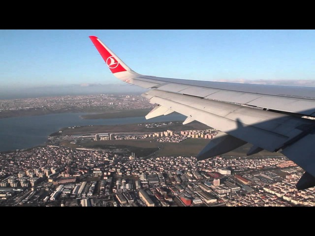 Turkish Airlines A321 Sharklets Istanbul Atatürk-Oslo Safety, Takeoff, Inflight, Landing, TK1751