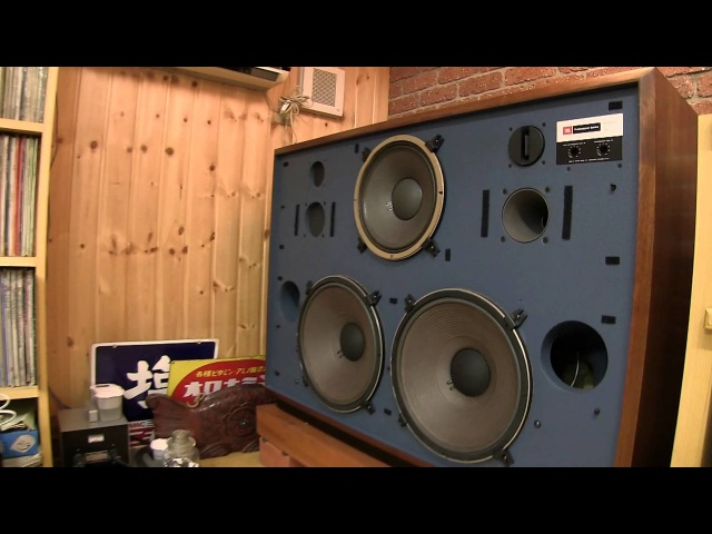 JBL 4355 speakers restored by Kenrick Sound has been delivered to Mr. Abes room