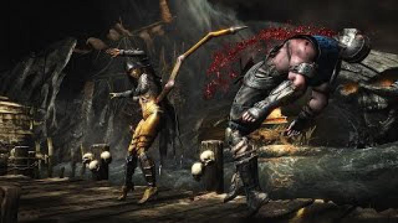 Все фаталити в Mortal Kombat X (ОЧЕНЬ жестокая игра)