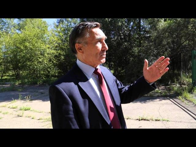 ИА IrkutskMedia:Экскурсия по разрушенному ИВВАИУ с генералом Барсуковым