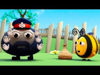 Мультики для детей. Пчелиные истории: Танцующая пчелка, серия 25
