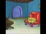 Spongebob getting caught watching Anaconda ???????.  Bruh!!!
