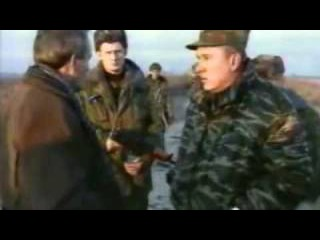 Генерал Шаманов. Разговор с чеченцем.