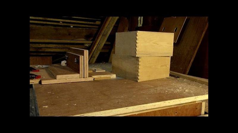 Приспособление для ящичных шипов | box joint jig
